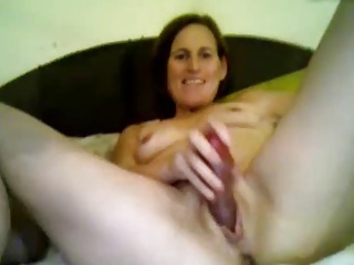 Wife gets fucked by a cock and a toy aided by hubby