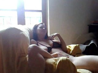 Brunette amateur wife oral play and homemade