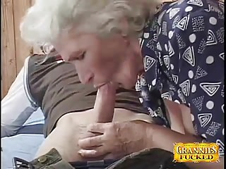 Granny Loves pubescent Cocks