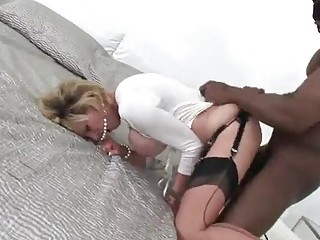 British MILF Lady Sonia Fucked Hard By A Big Black Cock