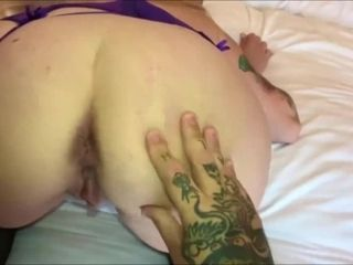 Cougars very first ever internal ejaculation