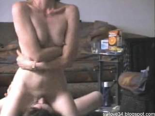 wife cheating have a huge orgasm