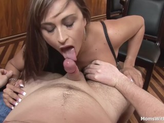 Enormous My MILF Neighbour dramatize expunge Facial Cumshot