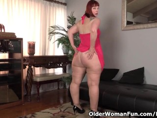 USA milf Scarlett lets you rate their way meaty profanity luggage hips