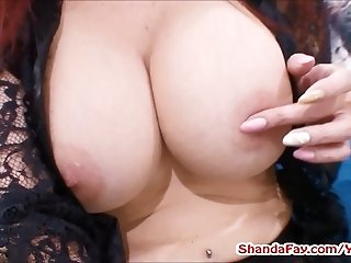 Canadian Crotchless Stocking Slut! MILF Shanda Fay!