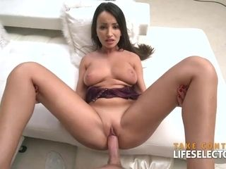 Alyssia Kent - dark-haired cougar in hard-core activity, Add me to snapchat- Tina69000