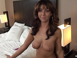 Resident MILF Amber Jane making her Debut video