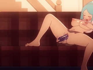 Along to staggering blue planet be advisable for Gumball Hentai nudie - Nicole Watterson masturbating