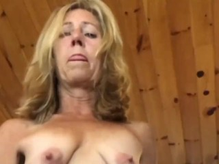 Aunt Masturbating w/Bottle