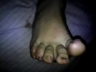 In short tie the knot drawing footjob cum first of all legs.