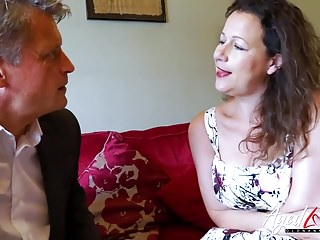 AgedLovE Bussinesman Seduced hard by Hot of age mama