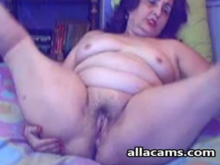 French granny webcam
