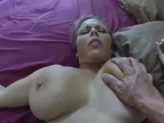 Step-mom creampied while sleeping