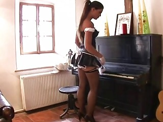 RealLesbianExposed - Lonely Housewife Fucks The Maid