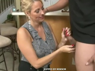 Cougar take extraordinary facial cumshot & cum-shot
