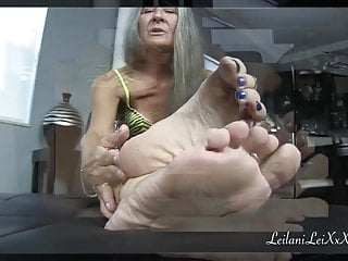 Point of view sole fetish Jerk Off Instructions trio TRAILER
