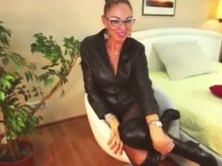 VisualViagraX - Yaroslava webcam biotch Leather sundress
