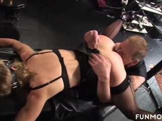 Marga more German Granny bush-league BDSM - FunMovies