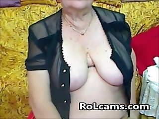 Real Granny in the webcam