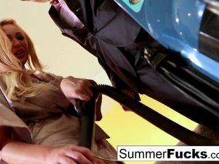Summer Brielle Lily Cade in light-haired Housewife Summer screws fantastic Salesman Lily - PUBA