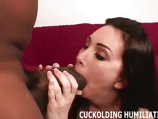 Watch me take every inch of this huge black cock