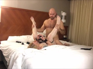 Mike Creampies another naughty 40-something in her motel apartment