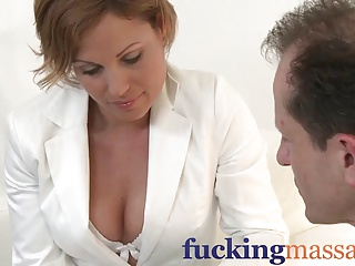Massage Rooms Milf legend Silvia shows masseur how to ride