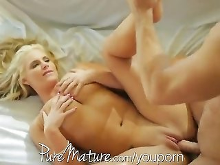 YouPorn - PureMature Housewife with big tits loves to eat cream