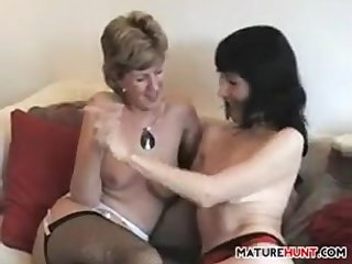 Mature Friends Have Lesbian Fun