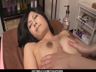 Aoi Miyama luvs cootchie so she gets molten in girl/girl episodes - More at Japanesemamas.com