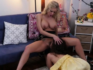 Ziggy starlet gobbles her pals step-mom