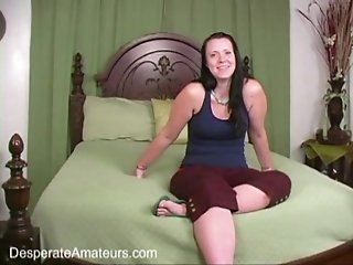Desperate Amateurs casting Evi Fox bbw chubby squirting mom wife first time full figure real hot women need money
