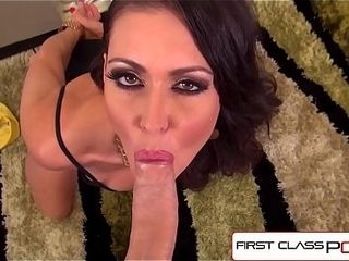 FirstClassPOV - Jessica Jaymes inhaling a monster sausage, thick funbags &amp_ thick butt