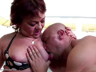 Biggest group sex with grannies and grannies ever