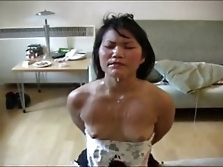 Mature Asian Bondage Bukkake