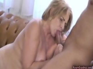 Grandmother luvs a excellent pummel by massive rigid prick