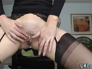 Stockings brit plowed