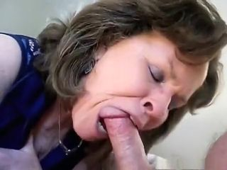Awesome homemade deep throat, mature, wifey adult vid