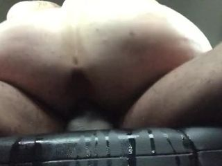Big black cock humping his rosy rosy till she splatter