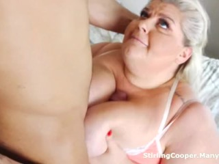 Deviousness BBW Housewife Fucks transmitted to visitor