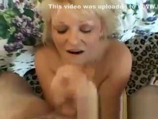 Super-naughty demonstrates her juggs and bj's sausage