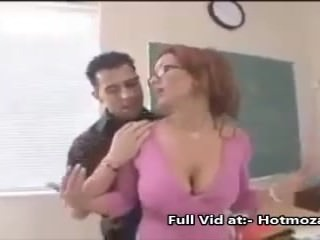 Dirty boy have sex with bad teacher