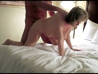 Horny swinger wife with boy toy