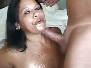 Hotwife Roman Milf cum kissing say no to costs