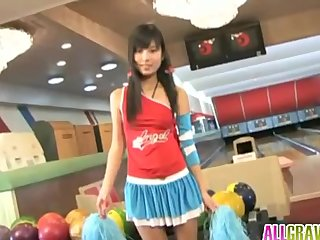 Momose Ena is hot and nasty cheerleader