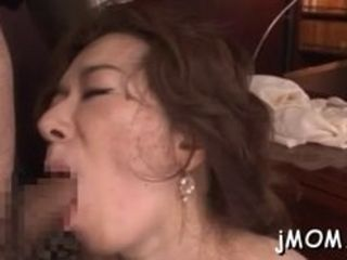 Gorgeous mature honey gets puss drilled in lots of poses