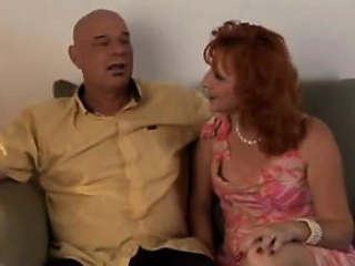 Wild redhead milf Sasha gets nailed deep and releases her pussy juices