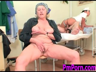 Czech Nurse fucks old patient
