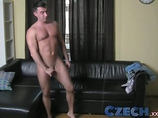 Czech Cocky stud gets put in his place by sexually dominant MILF